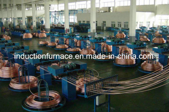 Upward Copper Rod Continuous Casting Furnace and Rolling Machine