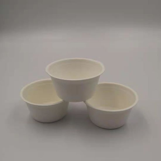 Biodegradable Bagasse Pulp Paper Cups for Hot Drink pictures & photos
