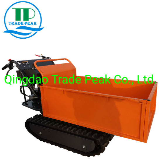 Cheap Price Mini Transporter 500kgs Loading Weight Dumper for Sale