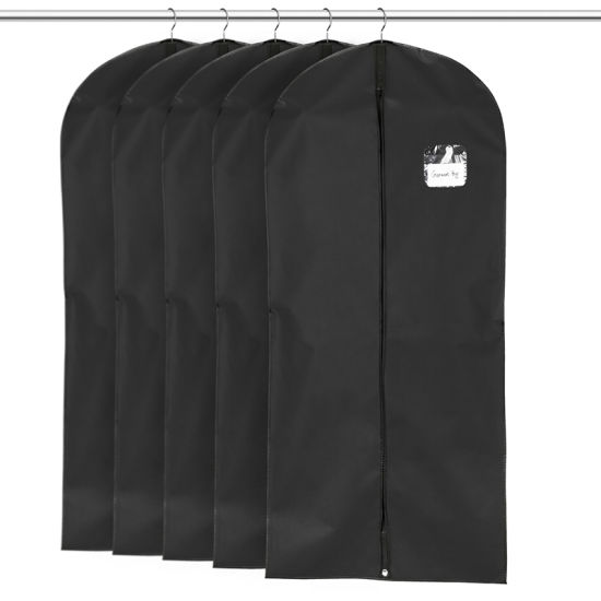 Non-Woven Foldable Suit Cover Garment Bags for Suits and Dresses (ST54WB-1) pictures & photos