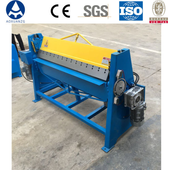 China Wholesale Dws-1.5*1500 Plate Metal Electric Folding Bending Machine