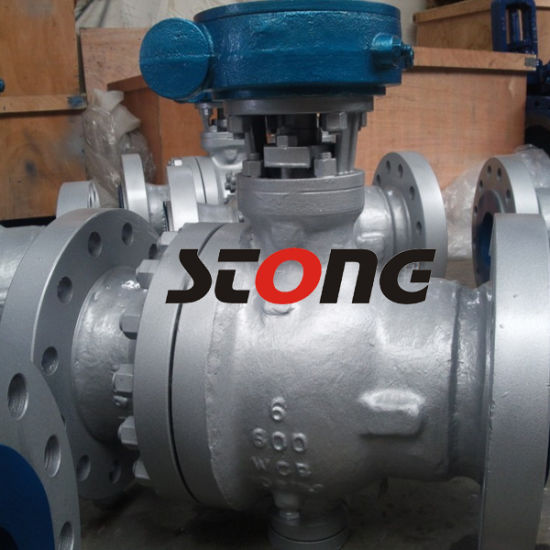 API 2PC CS Trunnion Mounted Ball Valve of 1500lb pictures & photos
