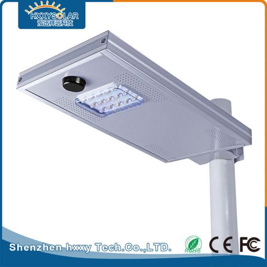 IP65 15W Outdoor LED Intelligent Dimming Solar Street Light