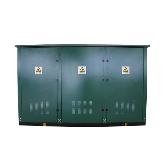 High Voltage Outdoor SF6 gas Insulation Power Ring Network Cabinet