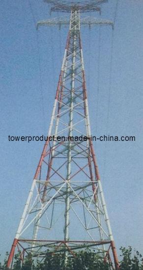 China Megtro 220kv Overhead Transmission Line Steel Tower (MG-220VHT