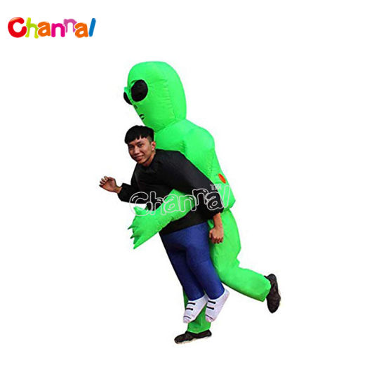 Inflatable Alien Hold Costume for Adults and Kids