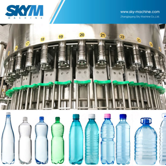 3000bph Automatic Pet Bottle Liquid Filling Machine