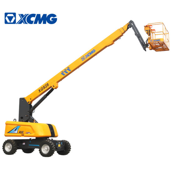 XCMG Official 26m China Mobile Telescopic Aerial Platform Xgs28