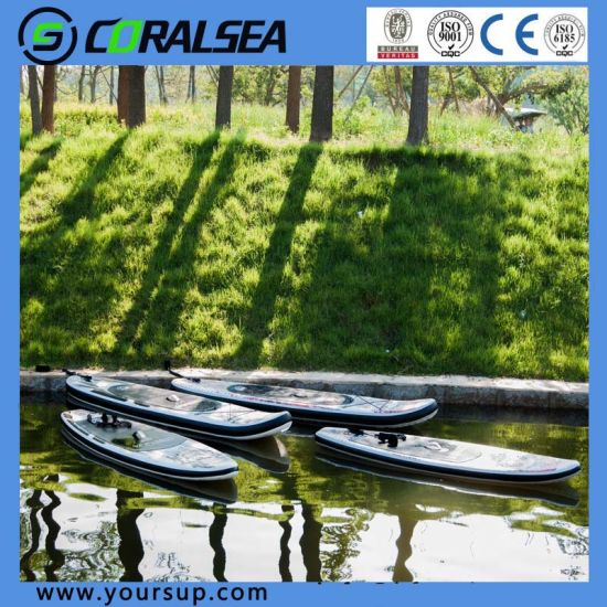 "New Material Stand up Paddle Surf with High Quality (Magic (BW) 10′6"") pictures & photos"