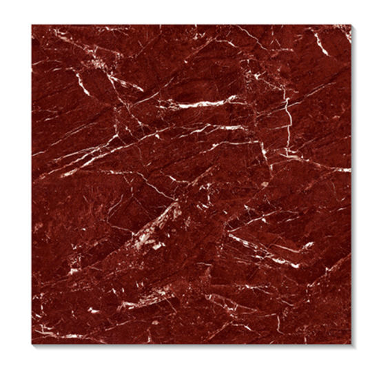 China Dark Red Color Discount Porcelain Floor Tile China Ceramic