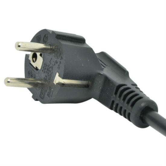 Environmentally Friendly 10A 3 Pin VDE European Power Cord pictures & photos