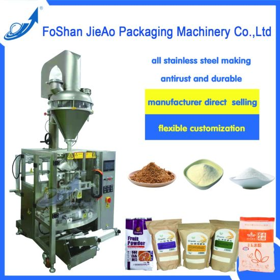 Full Automatic Cocoa/Milk/Coffee/Washing Powder/Flour/Salt/Pepper Powder Packing Machine/Packaging Machinery pictures & photos