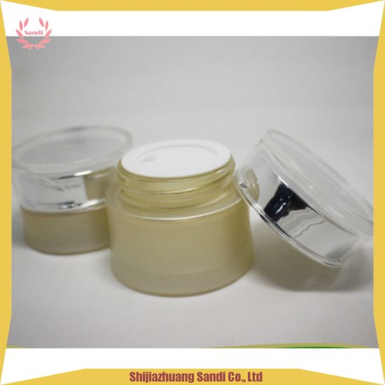 OEM Wholesale Cosmetic Glass Bottle Cosmetic Glass Jar