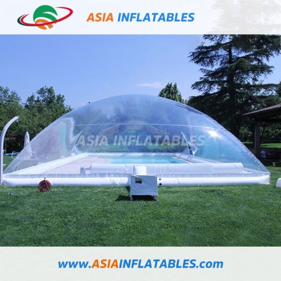 Giant Transparent Bubble Dome Tent Cover for Pool Use