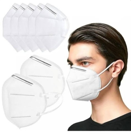 Disposable Non-Woven 95% Filtration 5 Layers Dust Face Mask