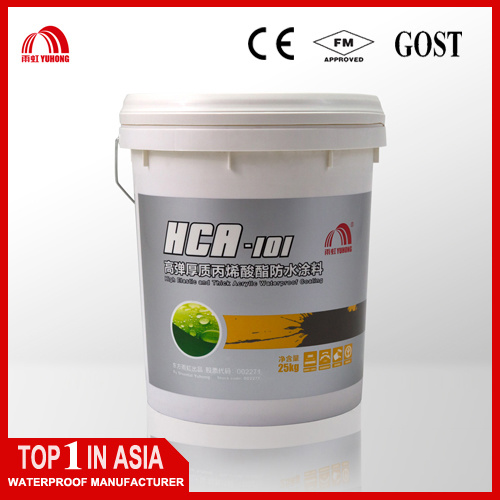 High Elastic Thick Acrylate Waterproof Coating pictures & photos