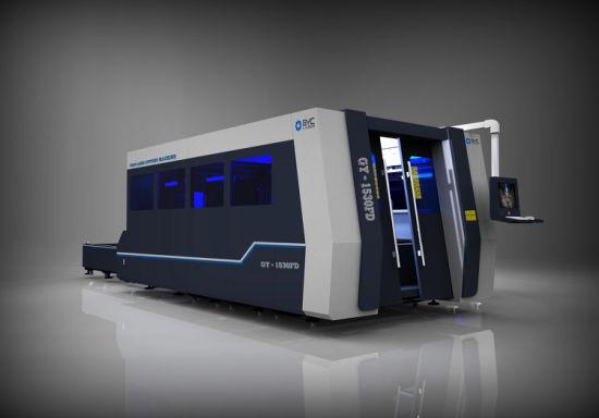 Gy-1530fd Fiber Laser Steel Cutting Machine