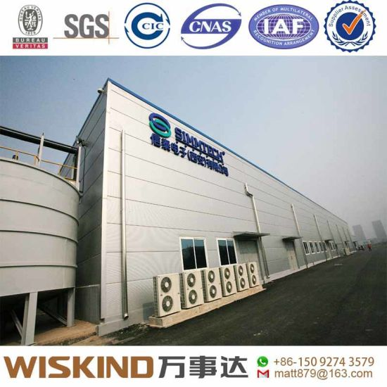 China Steel Building Frame Workshop/Warehouse with Steel Structure ...