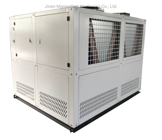 PE Extrusion PVC Line Mold Cooling Machine 50HP 40tons Industrial Water Chiller