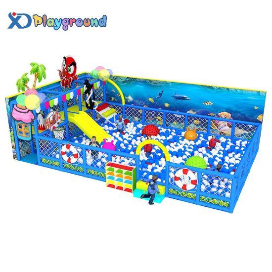 Custom Soft Padded Amusement Ball Pool Children Indoor Playground