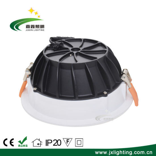 High Brightness Residential LED Lighting Fixtures 10 Inch 30W LED Downlight with COB LED Chip pictures & photos