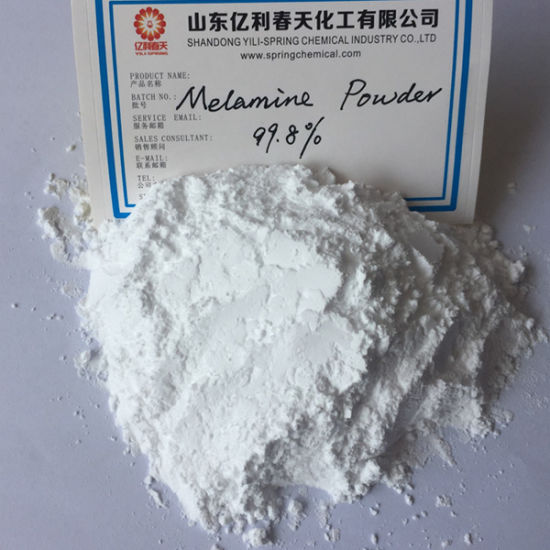 Most Competitive Price of Melamine 99.8% Powder