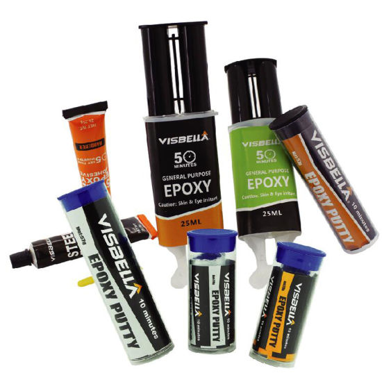 Visbella Epoxy Adhesive for Plastic Glss Metal Wood Bond