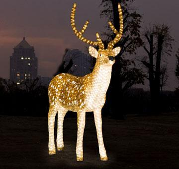 3D Christmas Motif Light LED Reindeer Outdoor pictures & photos