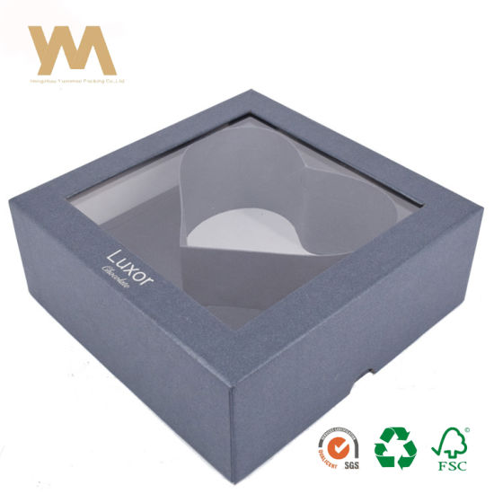 China Creative Personalized Square Paper Gift Packaging Box With