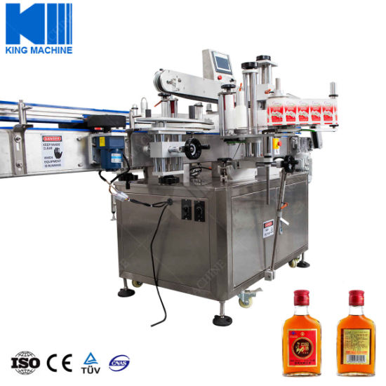 Automatic Self-Adhesive Labeller for Round Bottles