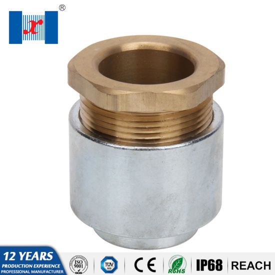 China Hnx IP54 Th Marine Metal Cable Gland Resistant to
