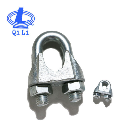 Us Type Galvanized Metal Wire Rope Clips