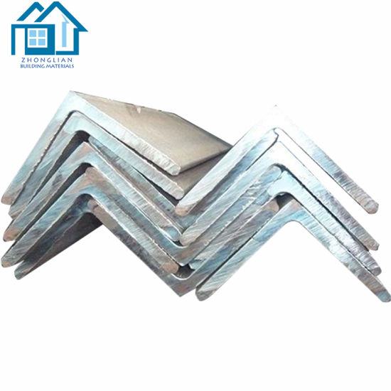 China Factory Price Per Kg Slotted Steel Iron Angle Bar