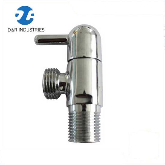 """Cheap Price 1/2"""" Angle Stop Vlave for Toilet Application, Angle Valve"""