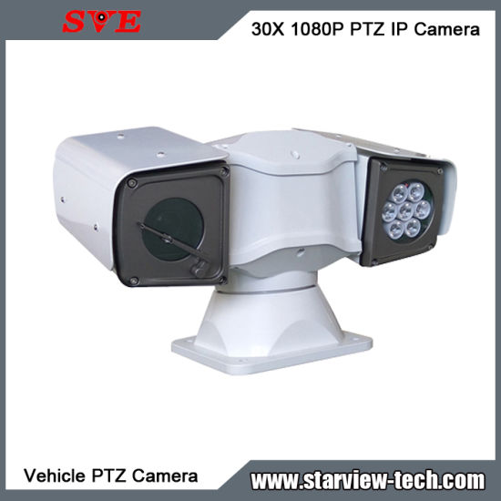 Portable 1080P 30X Zoom Rapid Deployment Rugged Vehicle IP PTZ Camera pictures & photos
