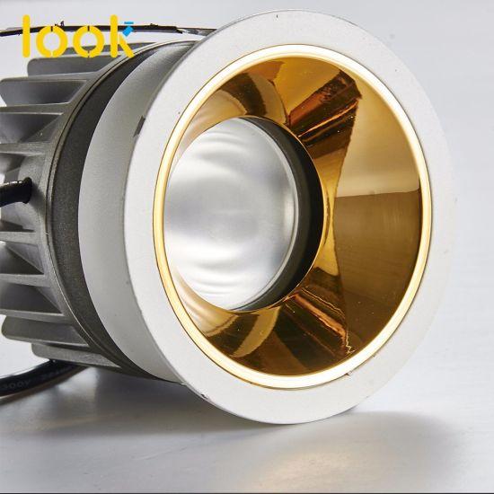 Distributor LED COB Ceiling Light Downlight Anti Glare Restaurant Honeycomb