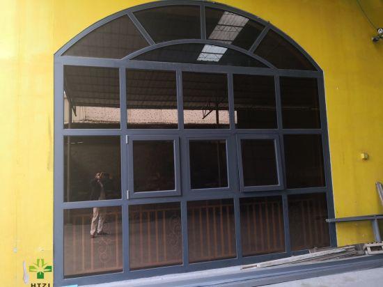 Factory Supply Soundproof Standard Size Glass Profile Aluminium Profile Bifold Door Folding Windows and Doors Folding Screen
