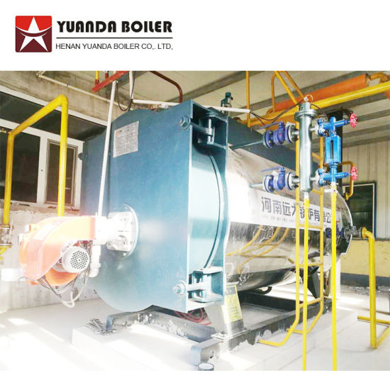 Wns Single Drum Horizontal Sel Oil Fired Hot Water Boiler Price