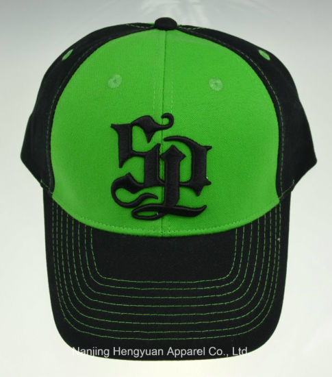 100% Cotton Baseball Trucker Golf Leisure Working Caps (HY180411)
