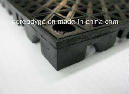 Plastic Rubber Garage Floor Mat / Garage Floor /PVC Floor for Industrial, Industrial Floor Tile