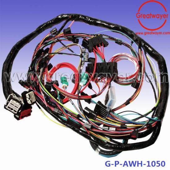 China ECU 46 Pin Connector GM Automotive Wiring Harness - China ECU
