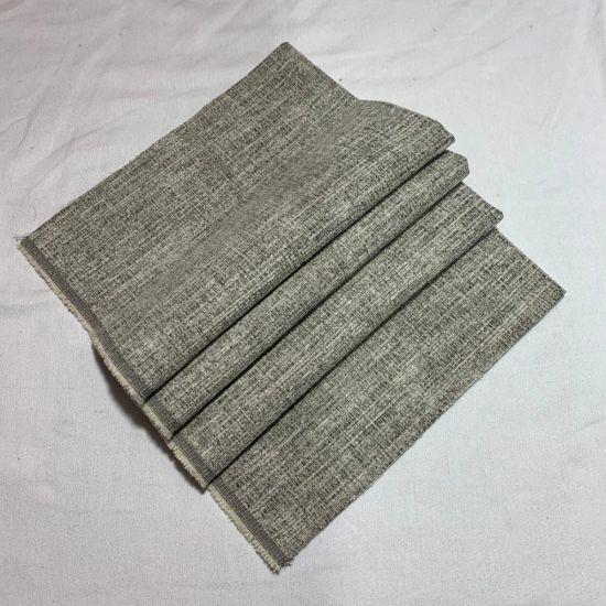 Sofa Upholstery Furniture Polyester Dobby Custom Fabric