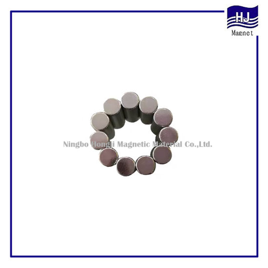 Strong Power Cylinder Wafer NdFeB Magnetic Material Neodymium Magnet