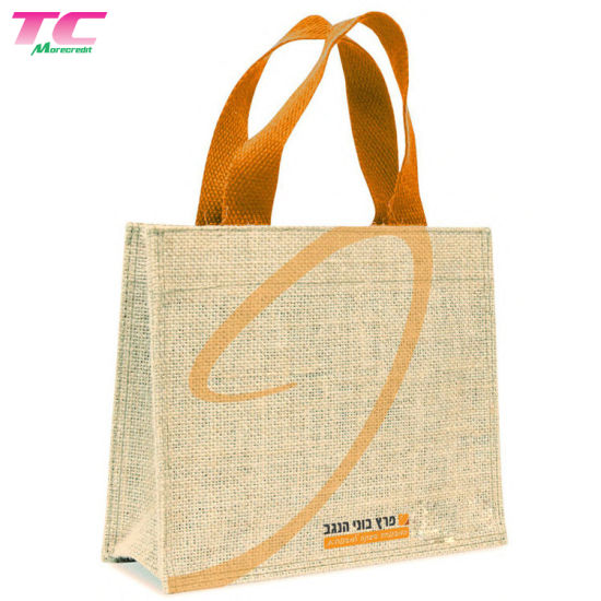 Tote Shopping Bag For Life Eco Friendly Jute Natural 4 Great Designs Large