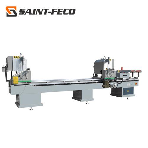 PVC Profiles Double Head Cutting Saw Machine