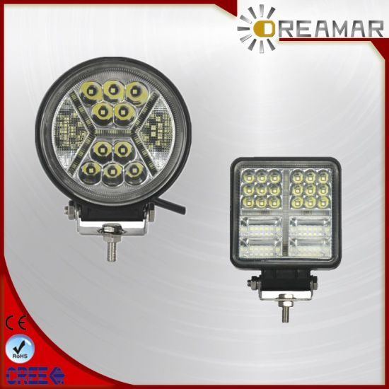 4 Inch 49W LED CREE Offroad Tractor Rechargeable LED Work Light with DRL for Car, Offroad, Truck