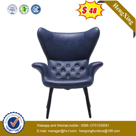 Modern Living Room Specific Use Leisure Chair Style Genuine Leather Bench Chair pictures & photos