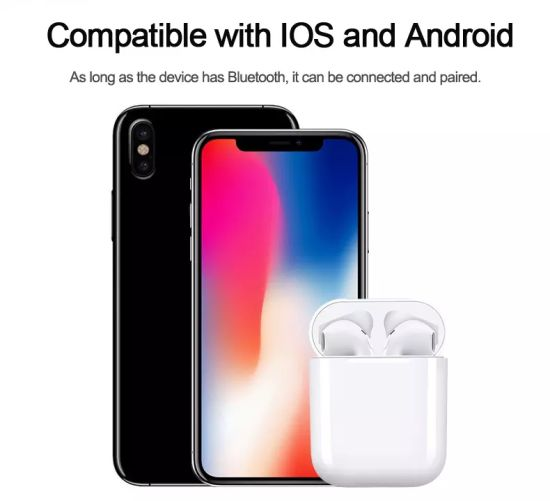 New Arrive Tws I9s Headphone Double Ear Earbuds with Mini Charging Box pictures & photos