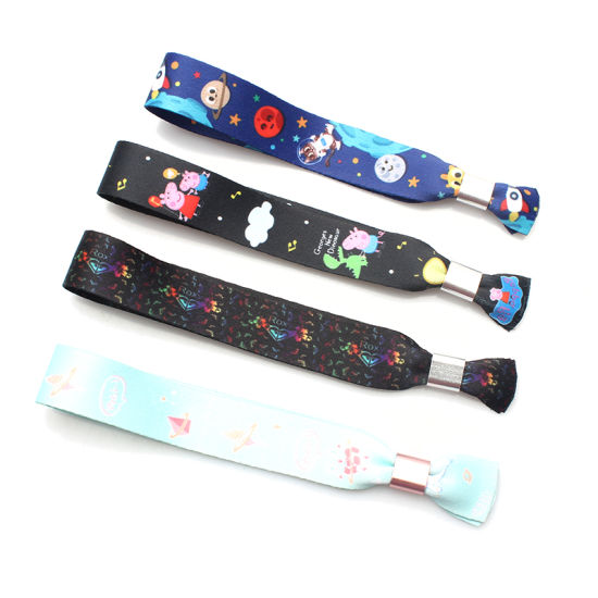 Promotional Hot Sale Sublimation Polyester Wristband as Giveaway Gift Items