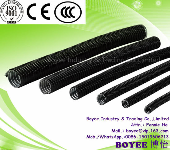 PVC Coated Pipe Electrical Steel Corrugated Flexible Tube pictures & photos